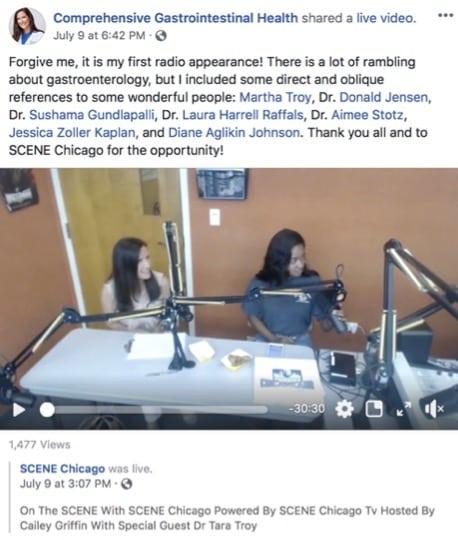 Scene-Chicago Radio Interview