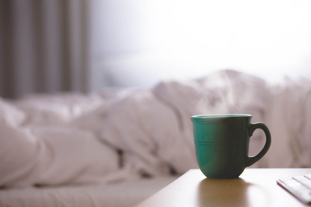 DRINK UP (OR NOT) FOR BETTER SLEEP