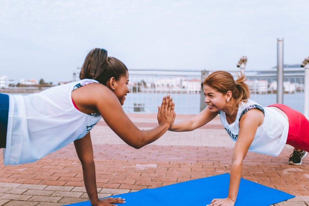 RESEARCH FINDS THAT EXERCISE CAN INCREASE HAPPINESS!