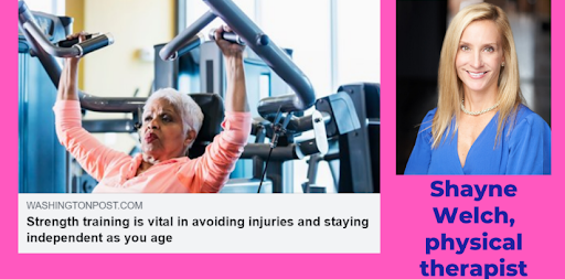 STRENGTH TRAINING VITAL AS YOU AGE