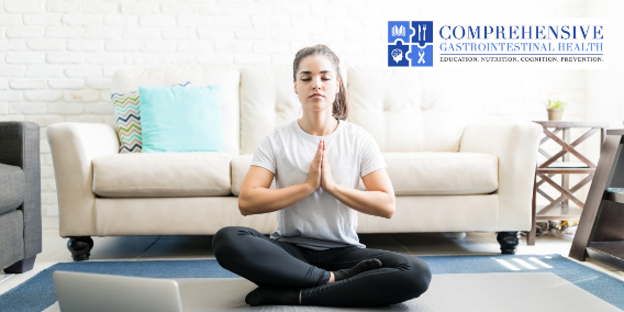 INTERNET YOGA HELPS IBD SYMPTOMS