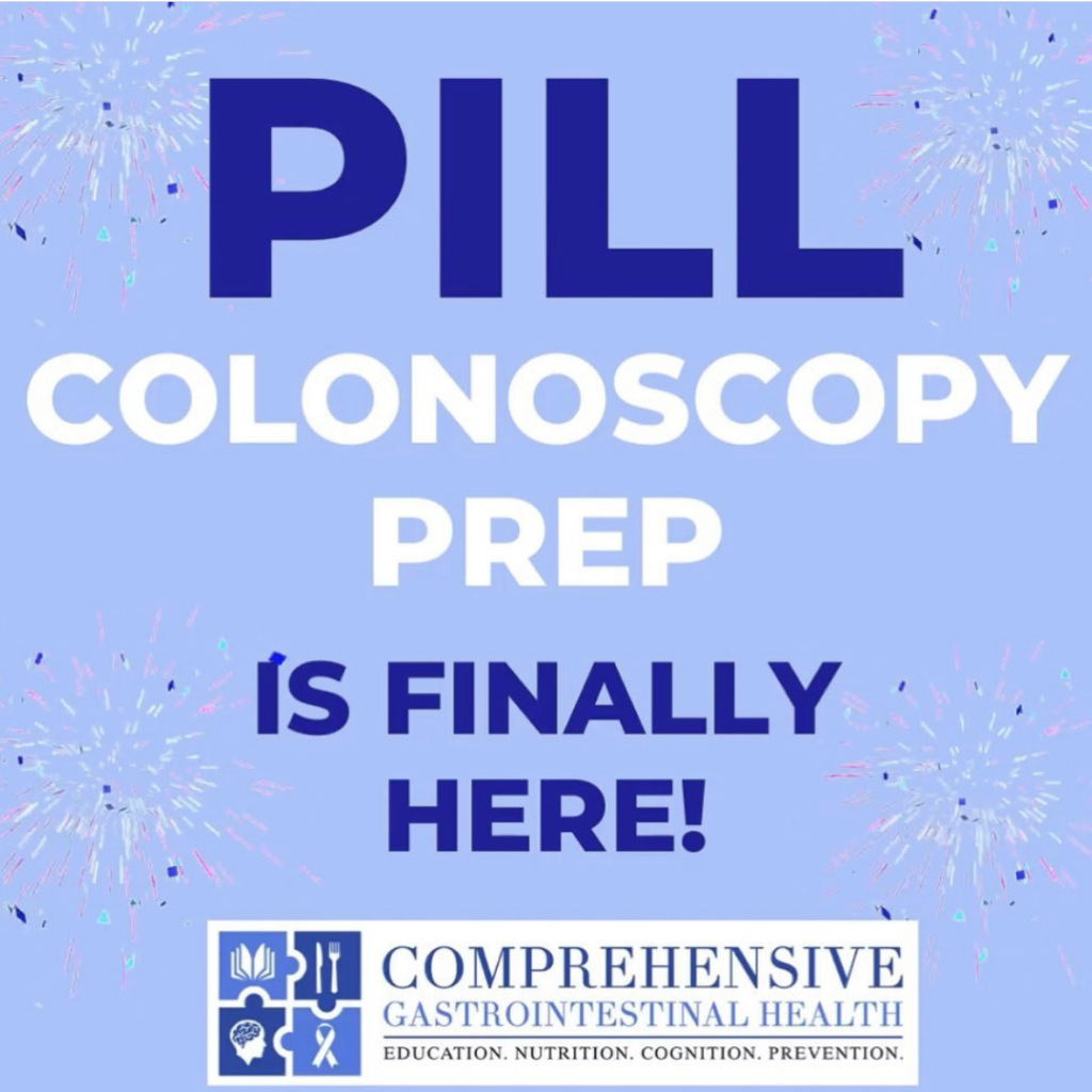 PILL COLONOSCOPY PREPARATION IS COMING!!