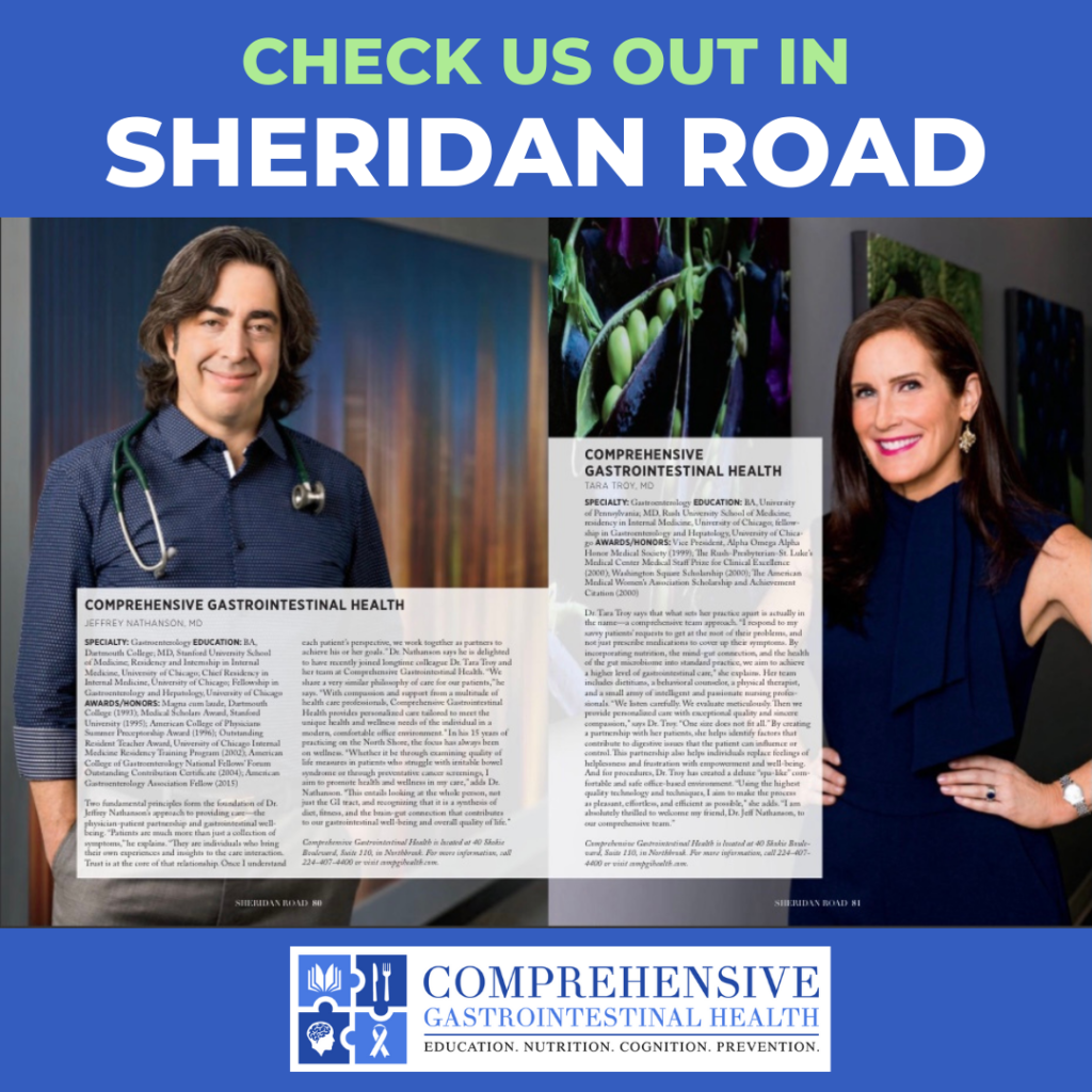 CHECK OUT DR. NATHANSON AND DR. TROY IN SHERIDAN ROAD MAGAZINE!