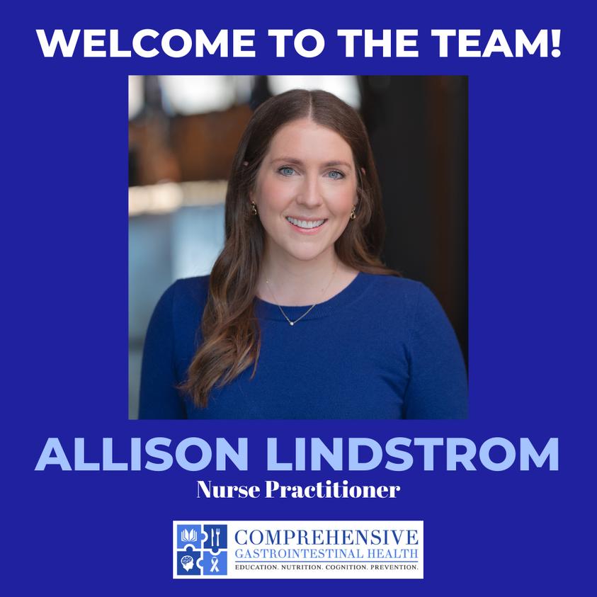 MEET OUR NEWEST NURSE PRACTITIONER – ALLISON LINDSTROM!