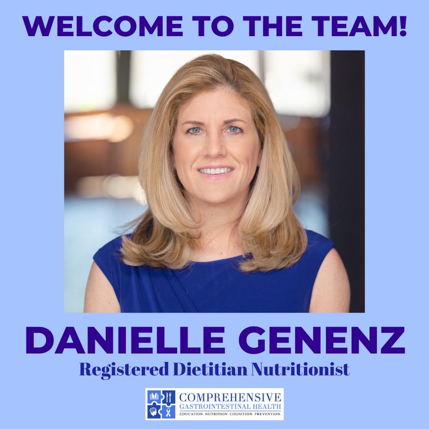 MEET OUR NEWEST REGISTERED DIETITIAN – DANIELLE GENENZ!