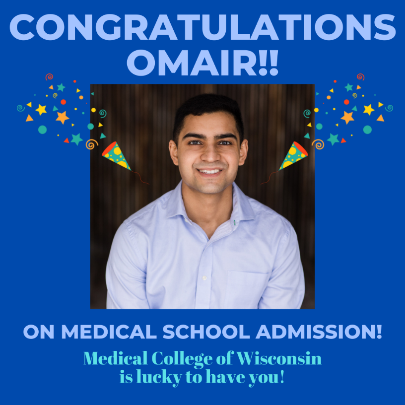 CONGRATULATIONS SOON-TO-BE DR. OMAIR IQBAL!!
