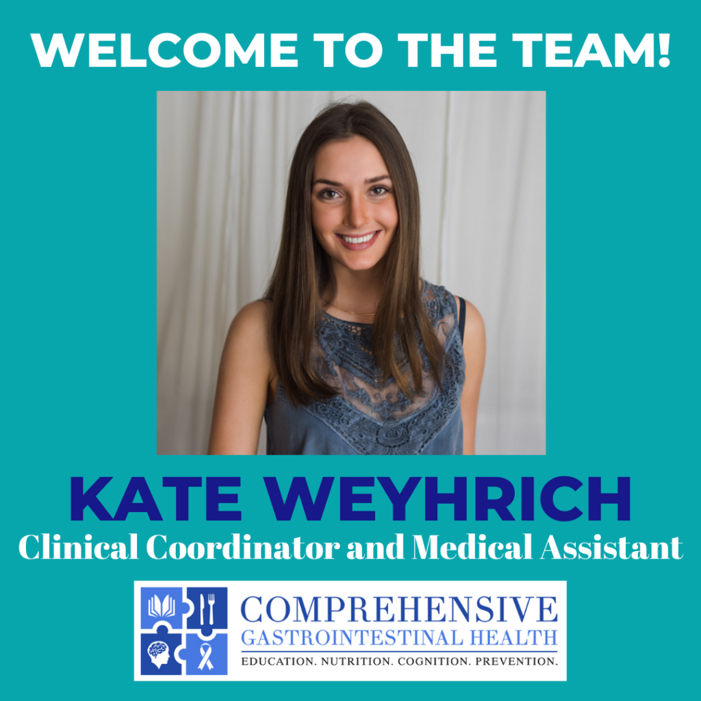 WELCOME TO THE TEAM: Kate Weyhrich