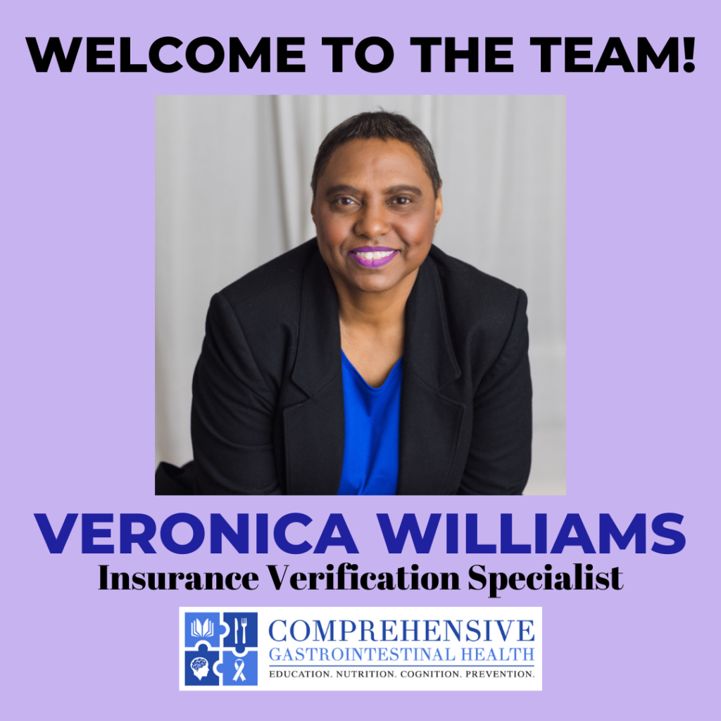 WELCOME TO THE TEAM: Veronica Williams